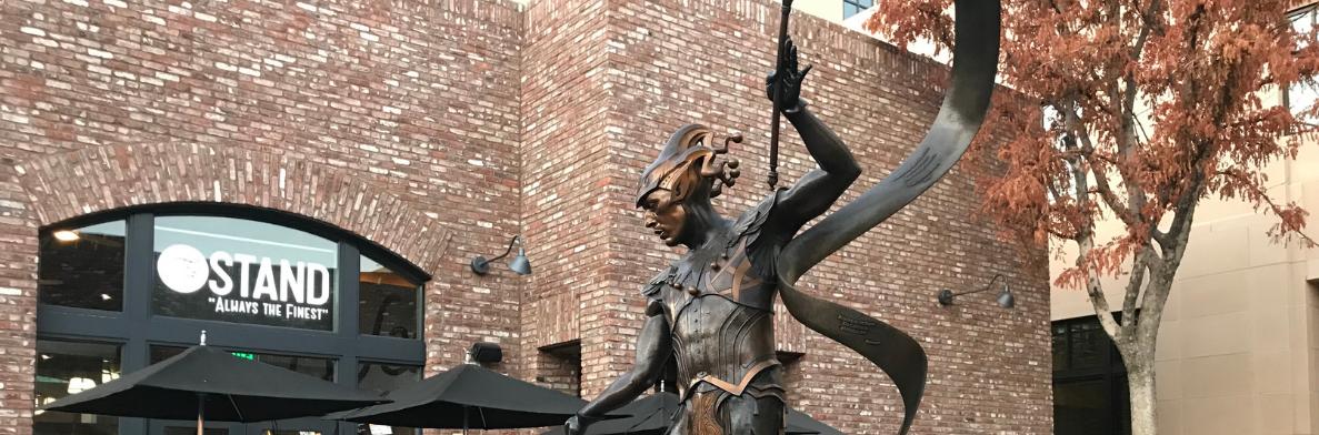 Pasadena Performer Statue